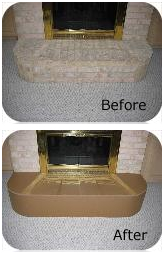 fireplace hearth cover
