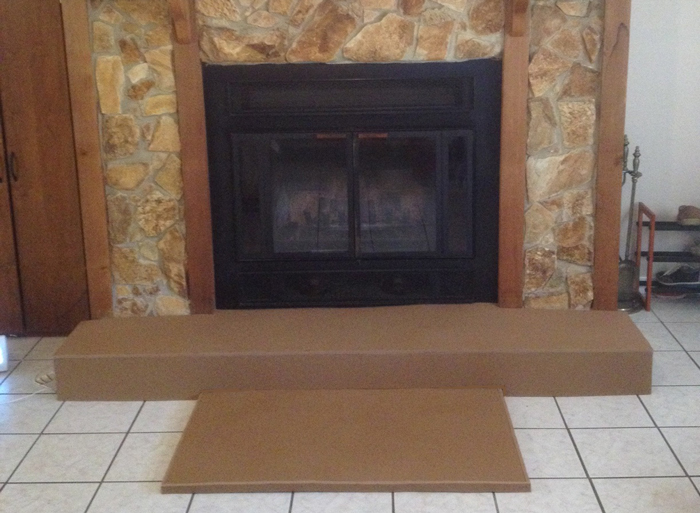 BabySafetyFoam.com : Fireplace Padding Protection : Gallery